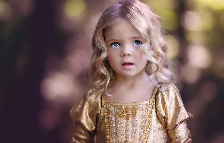 Обои Девочка, child, портрет. Разное foto 6