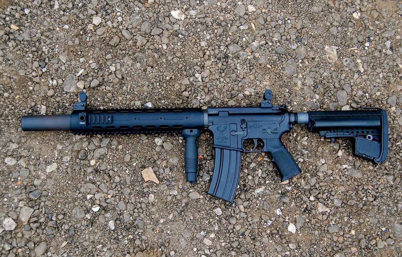 Фото обои оружие, автомат, штурмовая винтовка, STAG-15