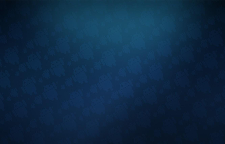 Фото обои синий, текстура, Android, андроид
