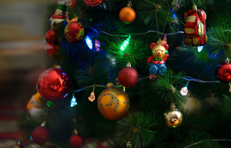 Фото обои настроение, елка, рождество, праздники
