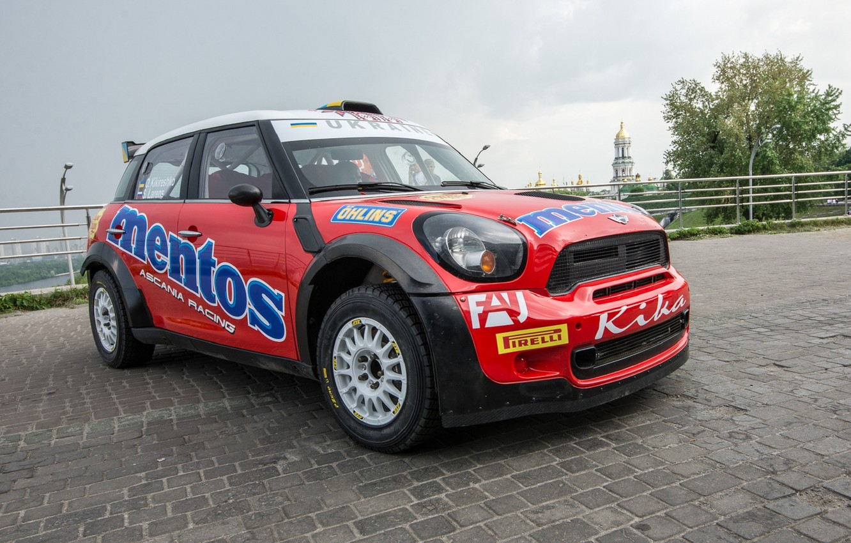 Фото обои Mini, Cooper, Racing, Ascania, Mentos