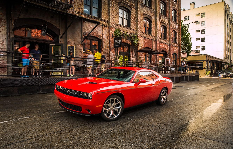 Фото обои Dodge, Challenger, SXT, Plus. 2015