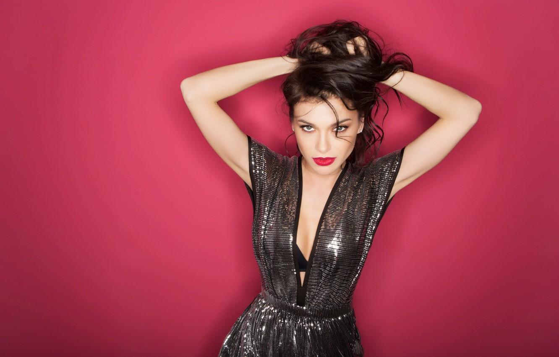 Фото обои платье, певица, Елена Темникова