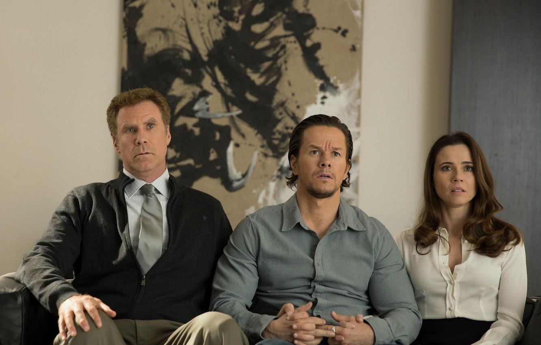 Фото обои Новый год, папа, Марк Уолберг, комедия, Mark Wahlberg, Уилл Феррелл, Will Ferrell, Linda Cardellini, Daddy's …