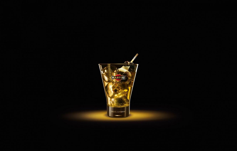 Фото обои стакан, мартини, соломинка