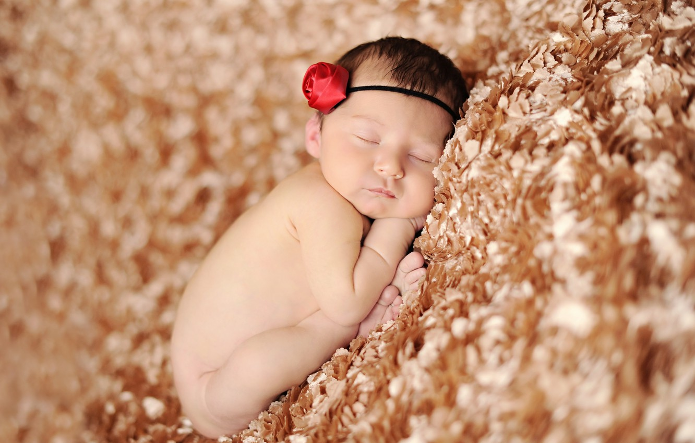Фото обои дети, сон, малыш, ребёнок, младенец