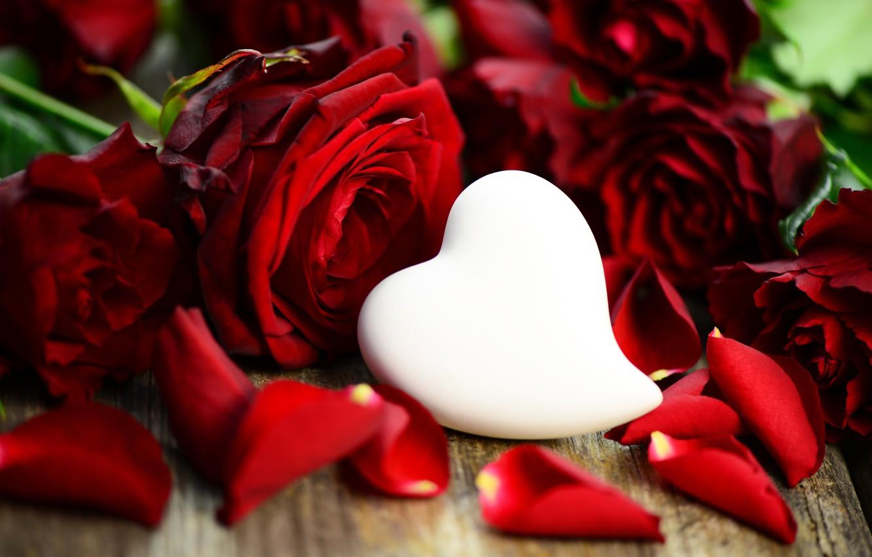 Фото обои любовь, сердце, розы, love, heart, romantic, Valentine's Day