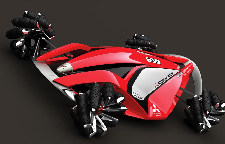 Фото обои Concept, Mitsubishi, Sport