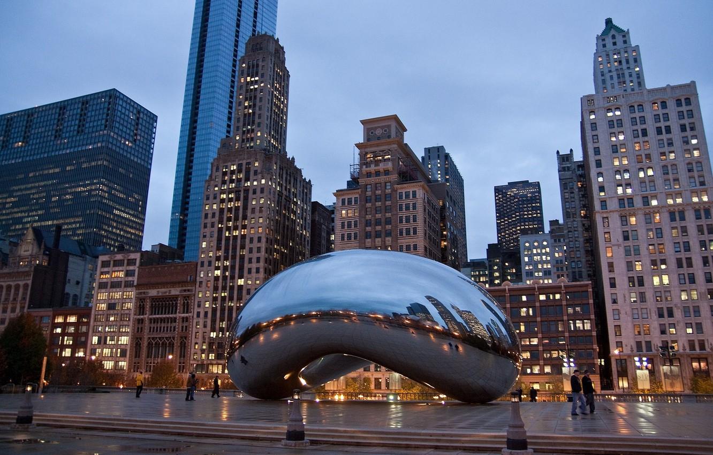 Обои небоскребы, чикаго, america, америка, chicago, здания. Города foto 11