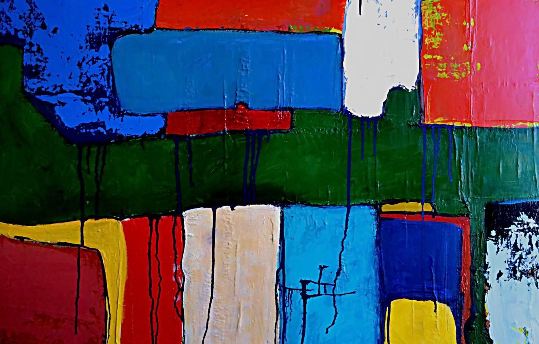 Фото обои фон, стена, краски