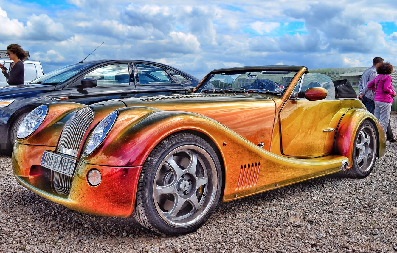 Фото обои hdr, Morgan, sports car, Morgan Aero 8
