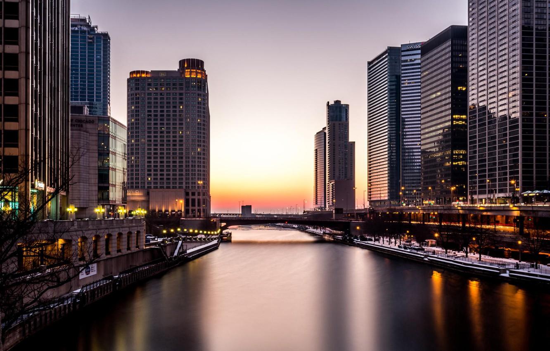 Обои небоскребы, чикаго, america, америка, chicago, здания. Города foto 7