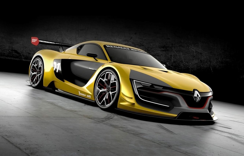 Фото обои concept, supercar, рено, Renault Sport, RS 01
