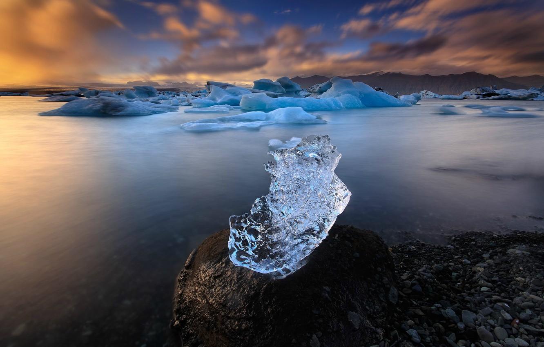Фото обои ice, iceland, icelandic landscapes, Christian Lim, glacier ice, jokulsarlon glacier ice, jokulsarlon glacier, iceland lakes, …