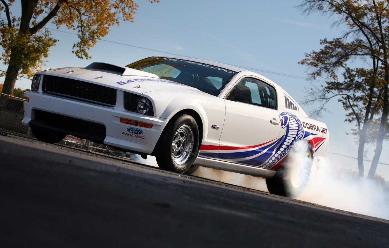 Фото обои Mustang, Ford, Cobra, Jet, 5.4