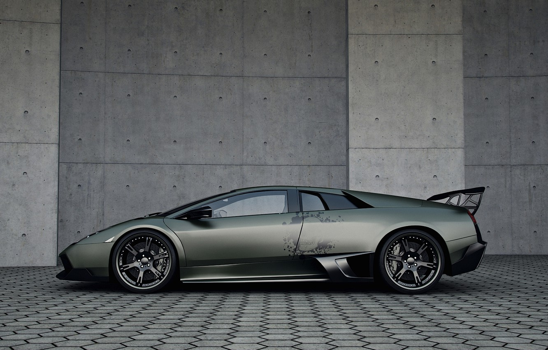 Фото обои тюнинг, Lamborghini, Wheelsandmore, Murcielago, SuperVeloce, LP720-4