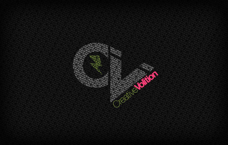 Фото обои буквы, креатив, фон, надпись, черный, минимализм
