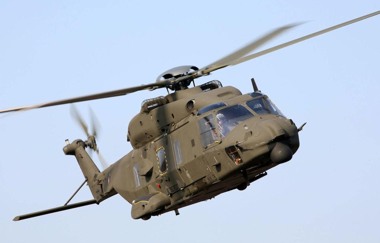 Обои Eurocopter, многоцелевой, as 365 n2, dauphin 2. Авиация foto 15