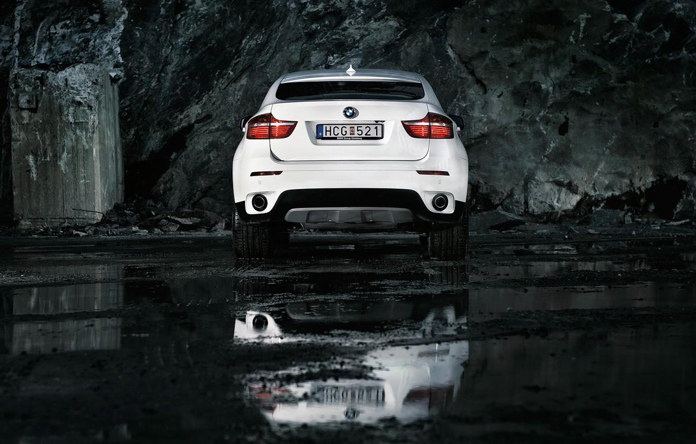 Фото обои BMW, White