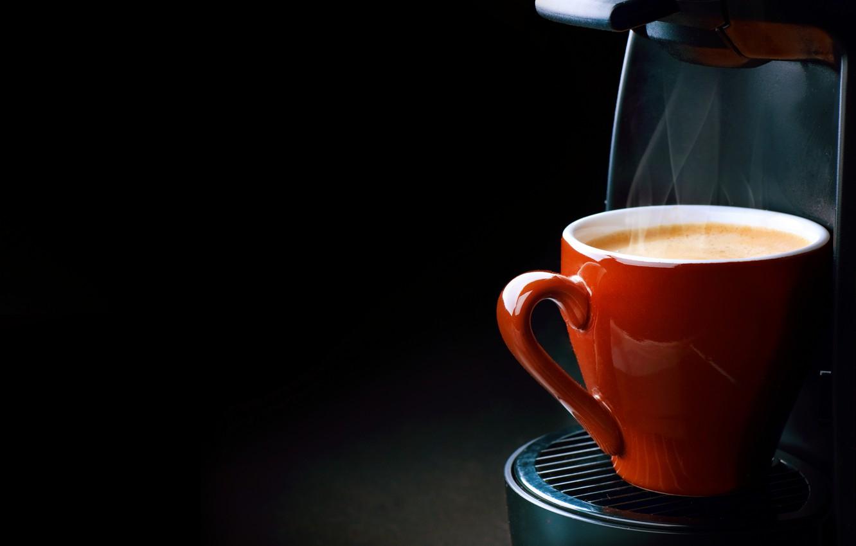 Фото обои пена, кофе, пар, steam, cup, Coffee, foam, кофемашина, эспрессо, крем-пенка, espresso, кофеварка чашка, coffee machine, …