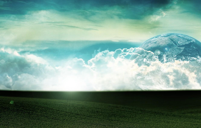 Обои свет, Облака. Разное foto 7