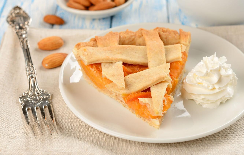 Обои пирог, выпечка, абрикосы. Еда foto 9