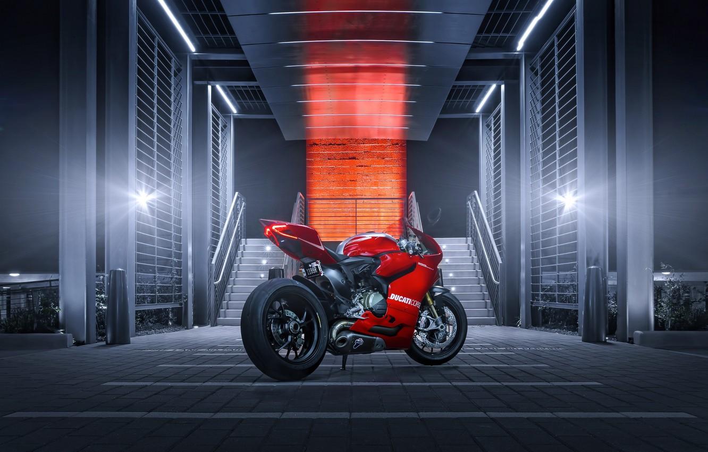 Фото обои rear, Joel Chan, Ducati 1199
