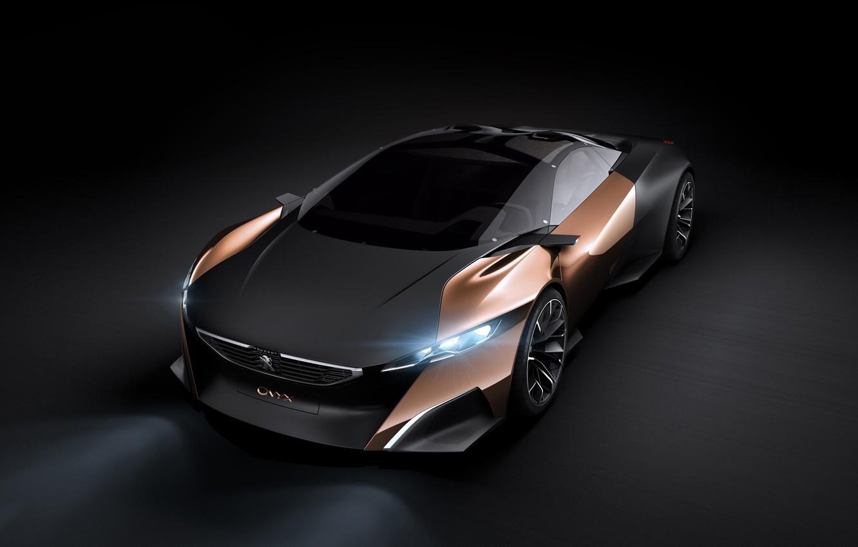Фото обои Peugeot, Concept Car, Onyx