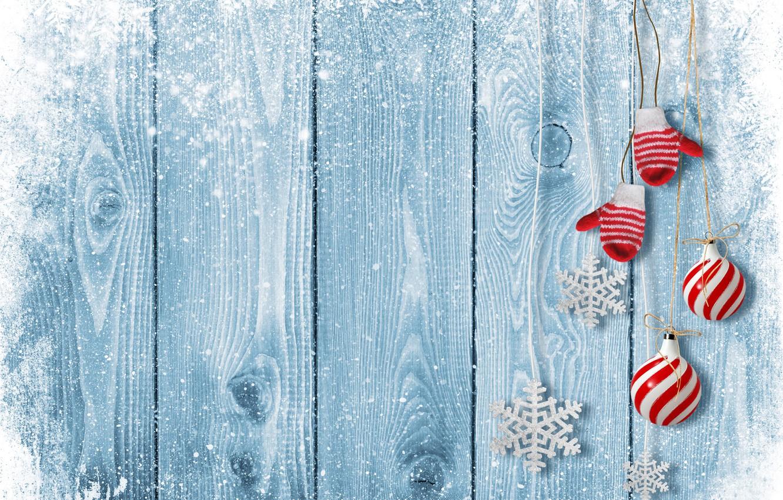 Фото обои зима, снег, игрушки, Новый Год, Рождество, Christmas, winter, snow, decoration, Merry