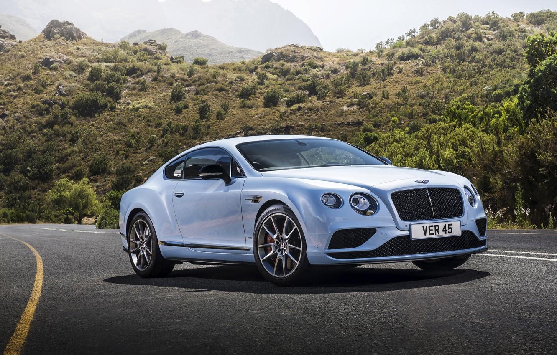 Фото обои Bentley, Continental, бентли, континенталь, 2015