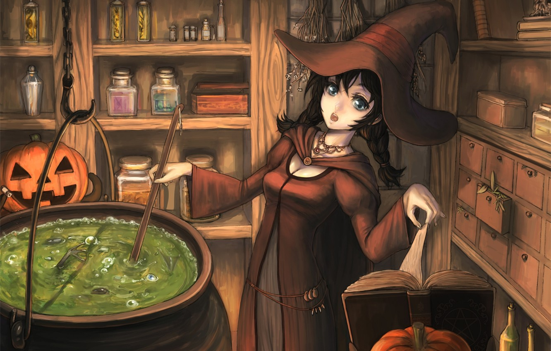 Обои ведьмочка. Разное foto 15