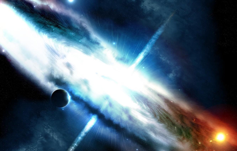 Фото обои космос, фантастика, арт, галактика, martin, greg, maelstorm2