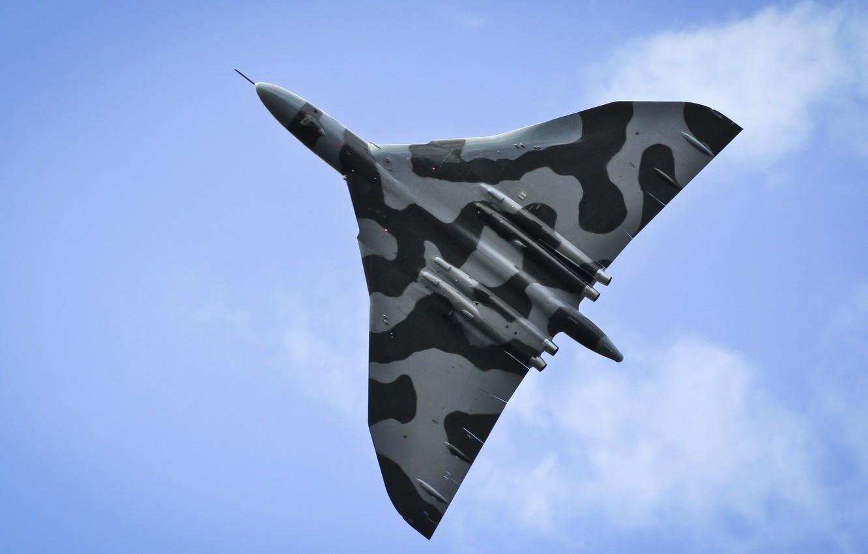 Обои Vulcan, Самолёт, bomber. Авиация foto 11