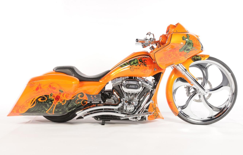 Фото обои дизайн, фон, мотоцикл, форма, аэрография, байк