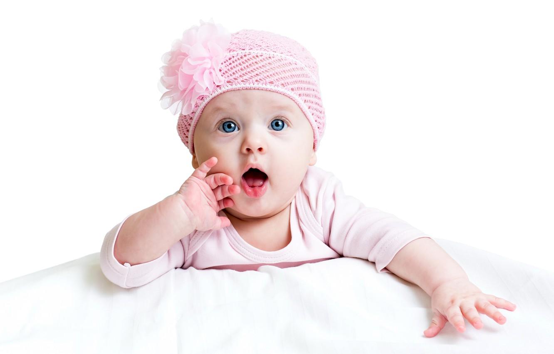 Обои шарф, Девочка, шапка, малышка. Разное foto 9