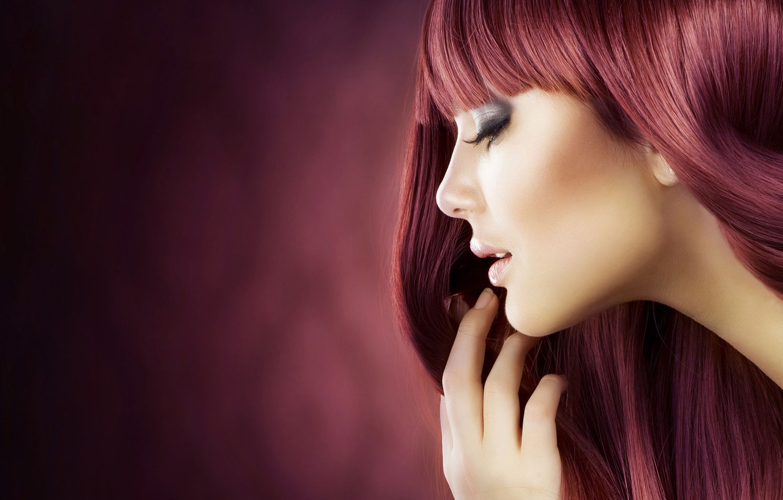 Фото обои девушка, модель, волосы, girl, model, hair, red head, шампунь, shampoo