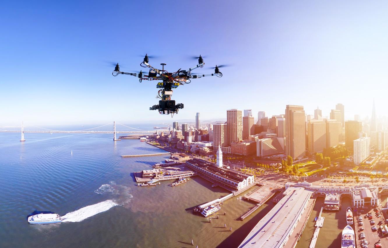 Обои Drone, aerial vehicle, concept, Joby S2. Авиация foto 11