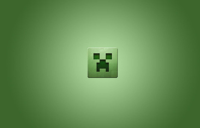 Фото обои квадрат, minecraft, майнкрафт, крипер