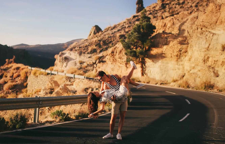 Фото обои дорога, девушка, фотограф, girl, парень, photography, photographer, David Olkarny