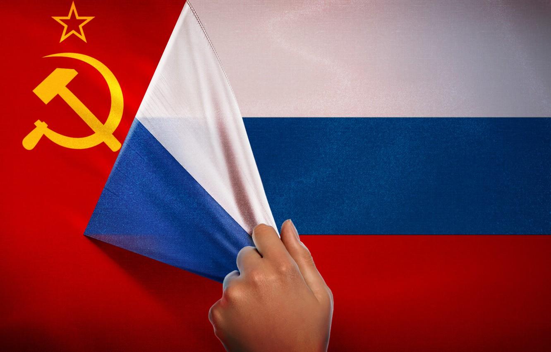 Фото обои красный, СССР, Россия