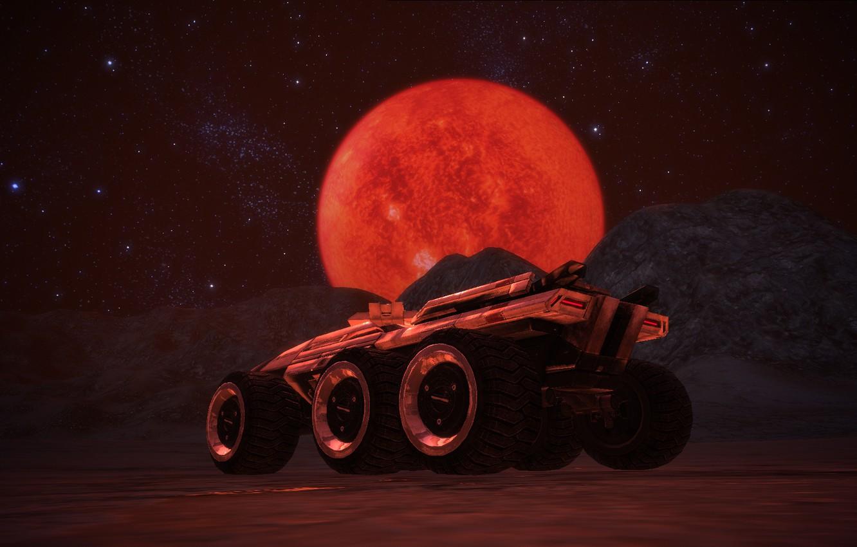 Фото обои планета, mass effect, Мако