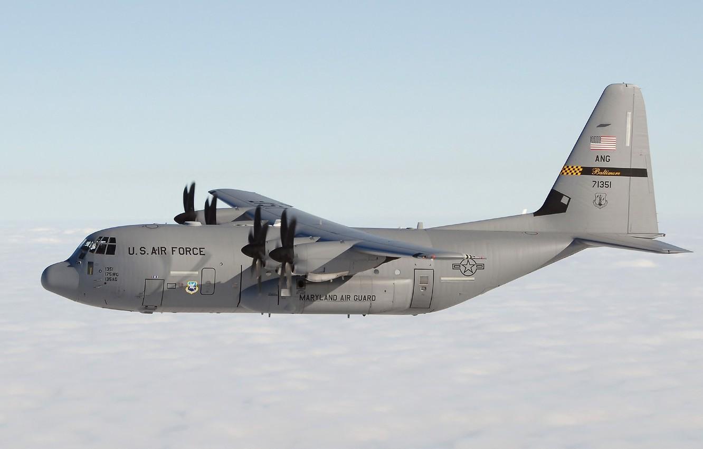 Обои Lockheed, c-130, hercules, Геркулес, c-130, локхид. Авиация foto 10