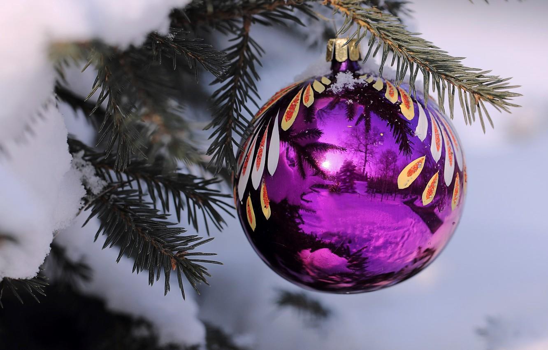 Картинки шаров на елке