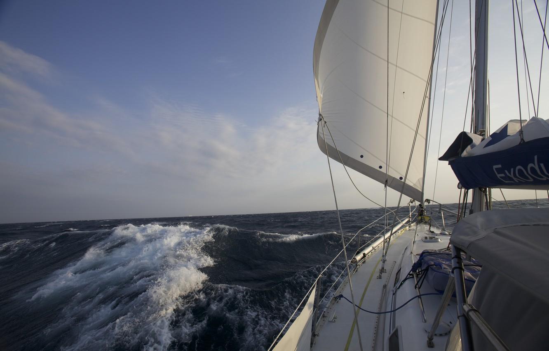 Гонка в шторм на яхте в Атлантике - YouTube | 850x1332