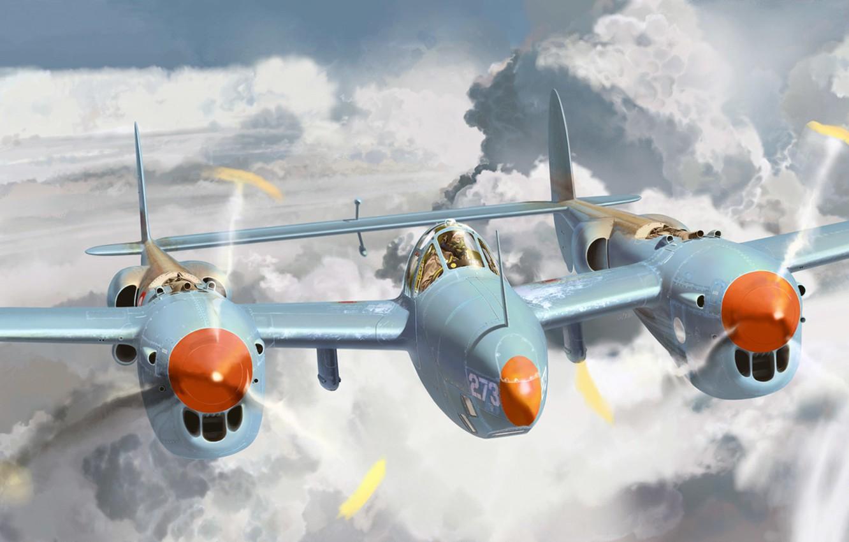 Обои локхид p-38, самолеты, американские. Авиация foto 9