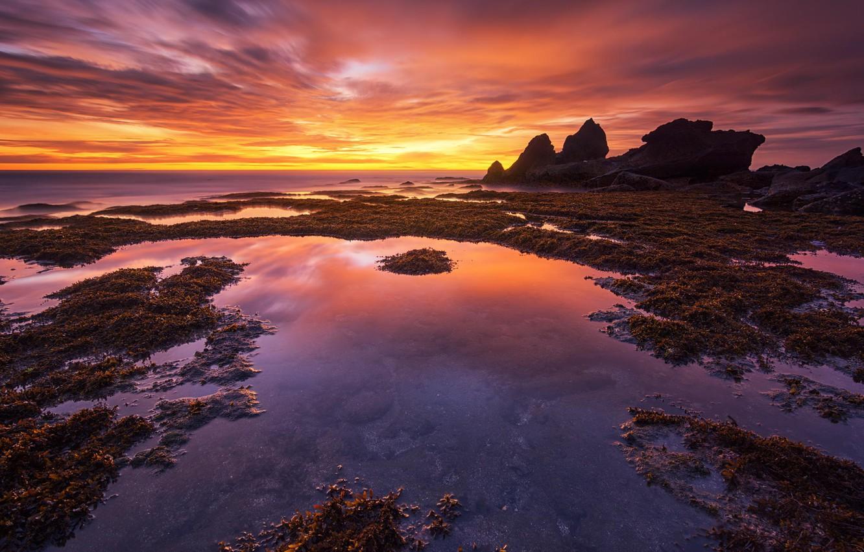 Фото обои закат, Bali, Indonesia