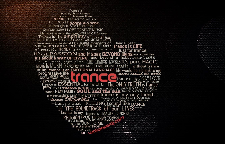 Фото обои Сердце, trance, Транс, The Core Of Our Music