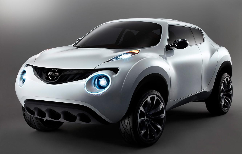Фото обои Concept, Nissan, Qazana