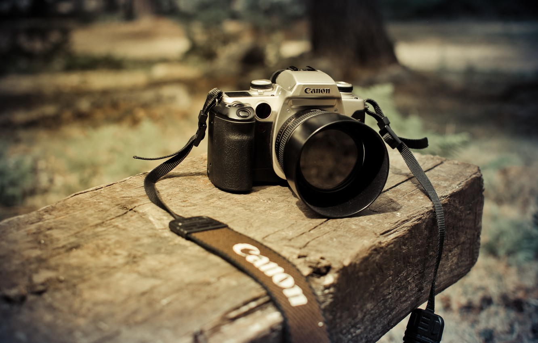 Фото обои фон, камера, Canon 50mm f1.4, Canon EOS 50