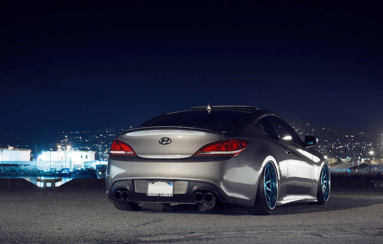 Обои coupe rmr, тюнинг, хюндай, genesis, Hyundai. Автомобили foto 9